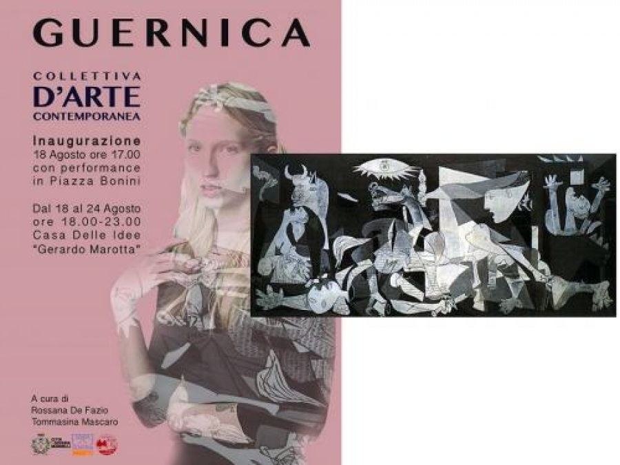 "A Soveria Mannelli, ""Guernica"" Collettiva d'Arte Contemporanea"