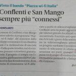 """Conflenti e San Mango sempre più """"connessi"""""""